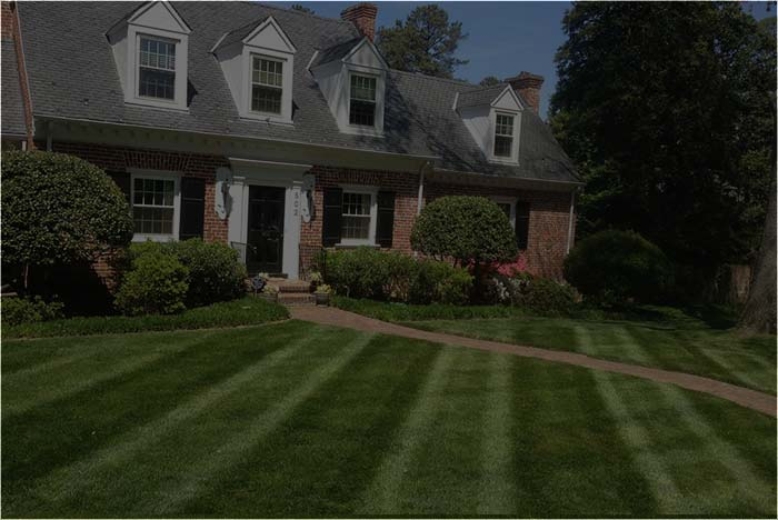 residential landscaping client in Richmond